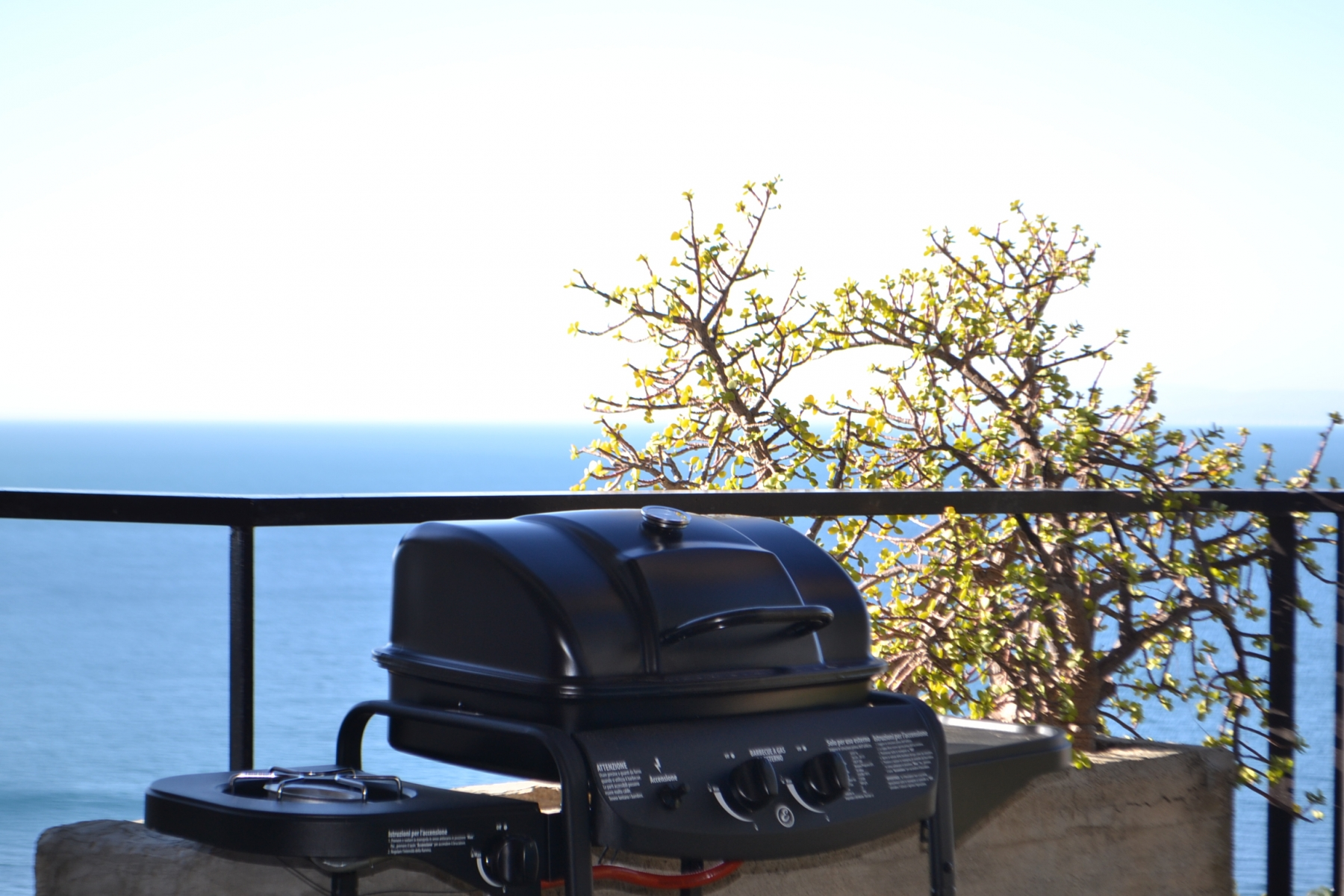 Barbecue-in-terrazza